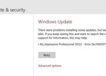 Error Code 0xc1900107 on Windows 10